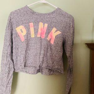 Cropped PINK shirt